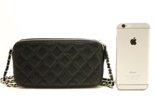 CHANEL Lambskin Wallet On Chain WOC Double Zip Chain Shoulder Bag L02-Chanel-hannari-shop