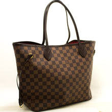 路易威登Damier Ebene Neverfull MM肩背包帆布k21-Louis Vuitton-hannari-shop
