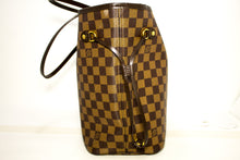 Louis Vuitton Damier Ebene Neverfull MM Shoulder Bag Canvas k21-Louis Vuitton-hannari-shop