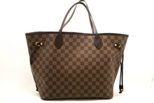 Louis Vuitton Damier Ebene Neverfull MM Taška přes rameno Plátno k20-Louis Vuitton-hannari-shop