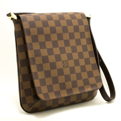 Louis Vuitton Damier Ebene Musette Salsa Bag T-shirt L50-Louis Vuitton-hannari-shop