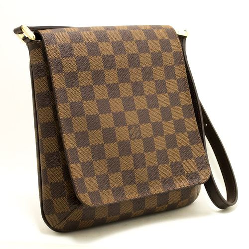 Louis Vuitton Damier Ebene Musette Salsa Short Strap Shoulder Bag L50-Louis Vuitton-hannari-shop
