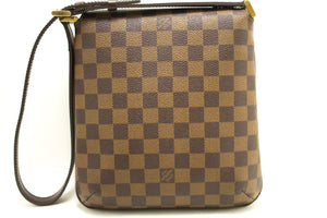 Louis Vuitton Damier Ebene Musette Σάλια κοντή ζώνη ώμου L50-Louis Vuitton-hannari-shop