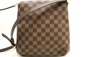 Louis Vuitton Damier Ebene Musette Salsa Long Strap Shoulder Bag L41