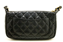 CHANEL Mini Caviar Mini Caviar Mini Sac à bandoulière Zip Quilted Black k13-Chanel Boutique-hannari-shop