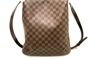 Louis Vuitton Damier Ebene Musette Salsa Long Strap Shoulder Bag k33-Louis Vuitton-hannari-shop