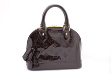 Kabelka Louis Vuitton Alma BB Amaranth Monogram Vernis Bag M91678 b58 hannari-shop