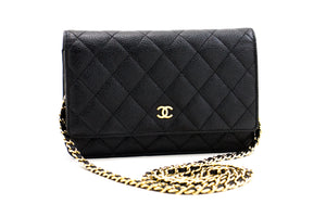 CHANEL Bubble Quilt Chain Shoulder Bag Black Lambskin Leather SV L57-Chanel-hannari-shop