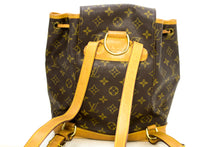 Louis Vuitton Montsouris MM Monogram Backpack Bag Canvas Leather k44-Louis Vuitton-hannari-shop