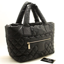 CHANEL Coco Cocoon Nylon Large Tote Bag Black Bordeaux Reversible k93-Chanel-hannari-shop