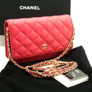 Kuletë me havjar CHANEL në zinxhir WOC Pink Cross Shoulder n06-Chanel-hannari-shop