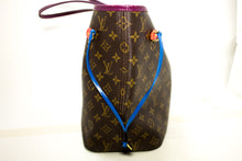 Louis Vuitton Auth Monogram Totem neverfull MM Magenta M41664 ejika apo n37 hannari-shop
