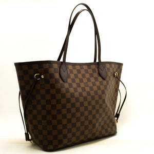 Louis Vuitton Damier Ebene Neverfull MM Shoulder Bag Canvas n38