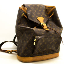 Louis Vuitton Montsouris GM Monogram Backpack Bag Canvas Leather n58-Louis Vuitton-hannari-shop
