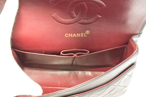 CHANEL Boy Black Caviar Wallet On Chain WOC W Zip Shoulder Bag Q08-Chanel-hannari-shop