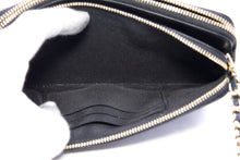 CHANEL Boy V-Stitch Black Caviar WOC Wallet On Chain Doube Zip x18 hannari-shop
