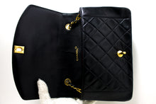 CHANEL Diana Flap Chain Shoulder Bag Crossbody Black Quilted Lamb p74-hanel-hannari-shop