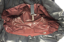 Kabelka CHANEL Coco Cocoon Nylon Tote Bag Black Bordeaux Leather b52 hannari-shop