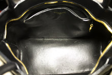 CHANEL Caviar Gold Medallion Shoulder Bag Shopping Tote Black L31