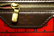 Louis Vuitton Damier Ebene Neverfull PM Shoulder Bag Canvas n34