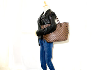 Louis Vuitton Damier Ebene Neverfull MM Shoulder Bag Canvas n39-Louis Vuitton-hannari-shop