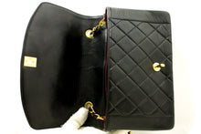 CHANEL Diana Flap Chain Shoulder Bag Crossbody Black Quilted Lamb p10-Chanel-hannari-shop