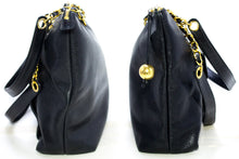 CHANEL Caviar Large Chain Shoulder Bag Black Leather Gold Hardware R95-hannari-shop