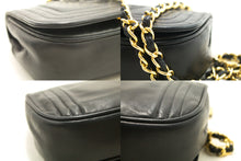 CHANEL Sacchetto per spalla a catena chjucu Black Flap Quilted Lambskin j99-Chanel.-hannari-shop