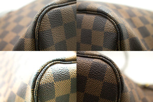 Louis Vuitton Damier Ebene Ποτέ μη γεμάτο τσάντα ώμου MM Canvas k21-Louis Vuitton-hannari-shop