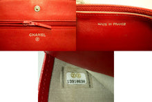 Portafoglio CHANEL Red Caviar On Chain WOC Bag in Spalla Crossbody n09-Chanel-hannari-shop