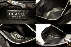 "CHANEL Caviar GST 13 ""Grand Shopping Tote Chain Skoudertas Swart u05-hannari-shop"