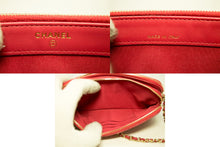 CHANEL Red Wallet On Chain WOC Double Zip Chain Shoulder Bag m84-Chanel-hannari-shop