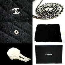 CHANEL Caviar Wallet On Chain WOC Black Shoulder Bag Crossbody R16-hanel-hannari-shop