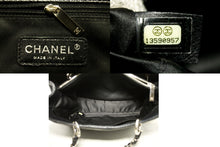 "CHANEL Caviar GST 13"" Grand Shopping Tote Chain Shoulder Bag Black p97-Chanel-hannari-shop"