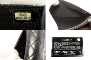 CHANEL Caviar Wallet On Chain WOC Black Shoulder Bag Crossbody t62-hannari-shop