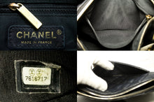 CHANEL Caviar Mini Small Chain One Shoulder Bag Black Quilted Zip k13-Chanel Boutique-hannari-shop