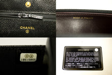 CHANEL Caviar Wallet On Chain WOC Black Shoulder Bag Crossbody m98-Chanel-hannari-shop