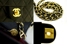 CHANEL Mini Small Chain Shoulder Bag Crossbody Black Quilted Flap p04-Chanel-hannari-shop