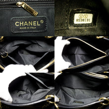 "CHANEL Caviar GST 13 ""Grand Shopping Tote Chain Shoulder Bag Black s34-hannari-shop"