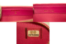 CHANEL Hot Pink Wallet On Chain WOC Double Zip Chain Shoulder Bag m69-Chanel-hannari-shop