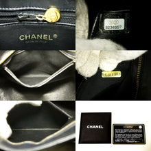 CHANEL Caviar Gold Medallion Shoulder Bag Black Leather Tote p50
