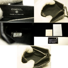 CHANEL Mini Small Chain Shoulder Bag Crossbody Black Quilted Lamb m88-Chanel-hannari-shop