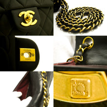 CHANEL Mini Square Small Chain Shoulder Bag Crossbody Black s31-Shoulder Bag-hannari-shop
