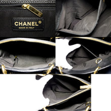 "CHANEL Caviar GST 13 ""Grand Shopping Tote Chain плечавая сумка чорная t27-hannari-shop"