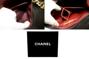 CHANEL Mini Square Small Chain Ramenní taška Crossbody Black Lamb u49 hannari-shop
