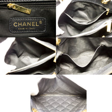 "CHANEL Caviar GST 13"" Grand Shopping Tote Chain Shoulder Bag Black u38 hannari-shop"