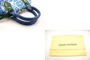 Kabelka Louis Vuitton Alma BB Limited Epi Aqua Light Blue Bag 2Way b45 hannari-shop