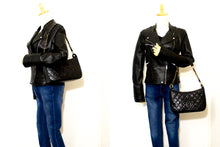CHANEL Caviar Chain One Shoulder Bag Black Quilted Leather Zipper Q36-Chanel-hannari-shop