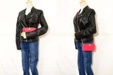 CHANEL Boy Hot Pink Wallet On Chain WOC W Zip Chain Shoulder Bag n53-Chanel-hannari-shop