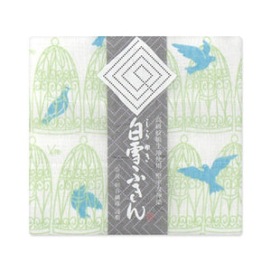 Shirayuki Fukin Cloth - Blue Bird